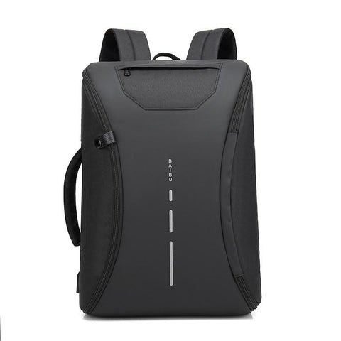 Fashion Backpacks Men'S Multifunction Waterproof Travel Backpack Usb Charging Anti Theft Laptop