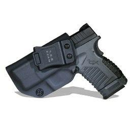 "PINkart-USA Black For Left B.B.F Make Iwb Kydex Holster Fits: Springfield Xd-S 3.3"" 9Mm/.40S&W/.45Acp Gun Holsters Inside"