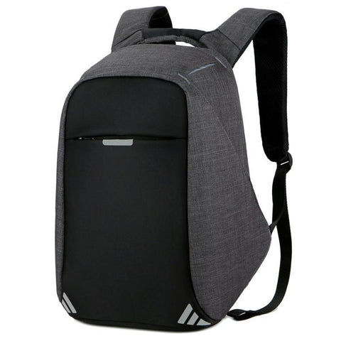 PINkart-USA Black Men'S Backpack Bag Usb Charge 15Inch Laptop Backpacks For Teenager Fashion Male Mochila Women Leisure Travel Backpack Anti Thief