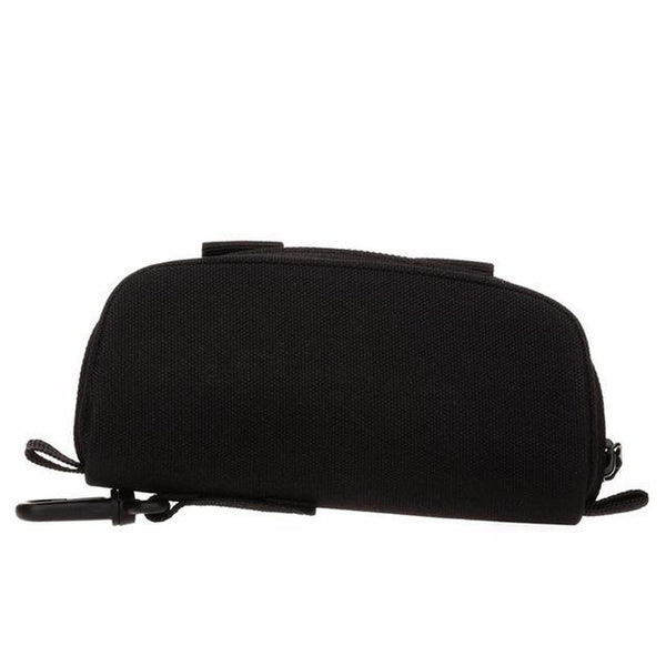 PINkart-USA Black Men Tactical Military Army Molle Sunglasses Case Eyeglasses Bag Outdoor Glasses Pouch Fanny Pack