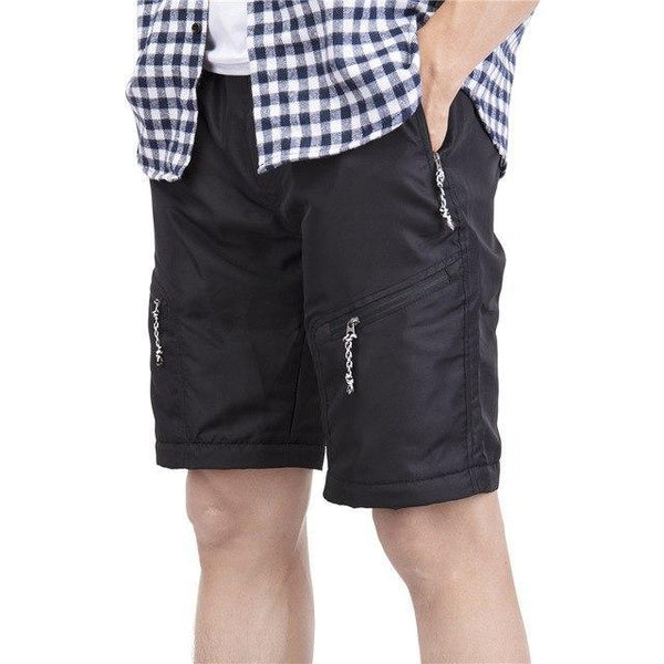 PINkart-USA black / S / China Summer Shorts Men Fashion Brand Boardshorts Breathable Male Casual Shorts Comfortable Plus Size