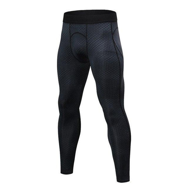PINkart-USA black square / S Men Running Pants For Elastic Sport Workout Training Pants Gym Clothing Fitness Tight Sport Jogging