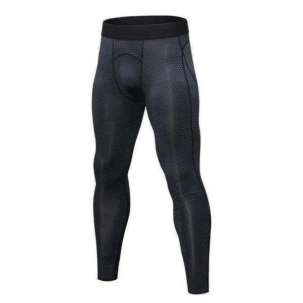 PINkart-USA black triangle / S Men Running Pants For Elastic Sport Workout Training Pants Gym Clothing Fitness Tight Sport Jogging