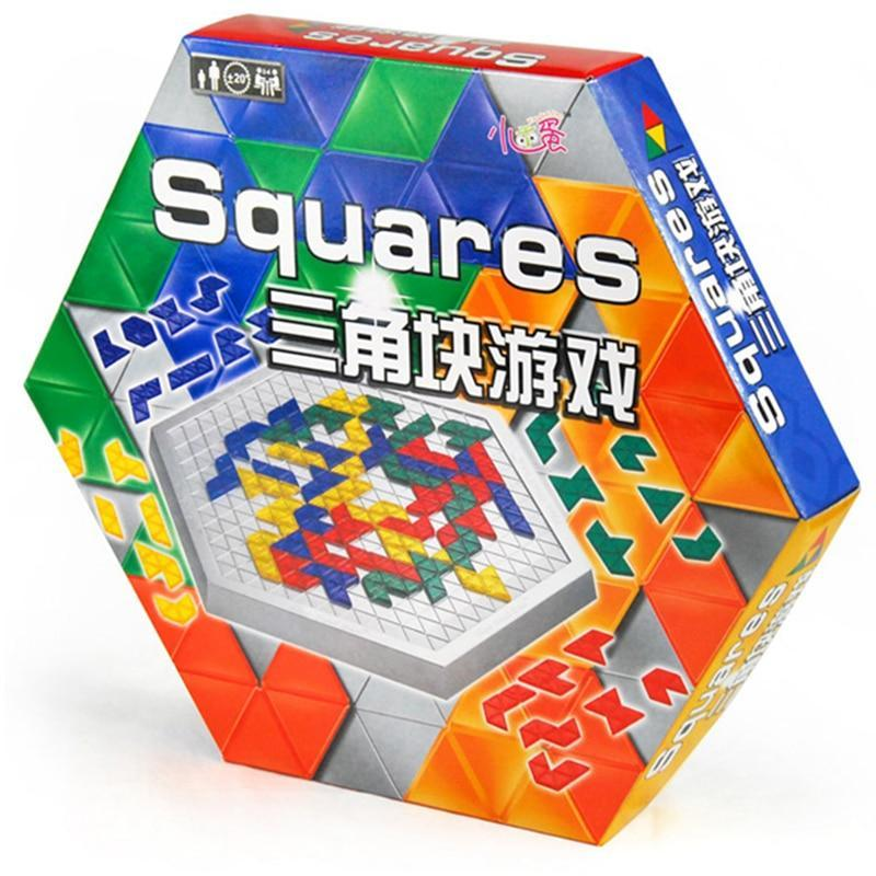 PINkart-USA Blokus Hexagonal Version Board Game Educational Toys 486 Squares Game Easy To Play For Children