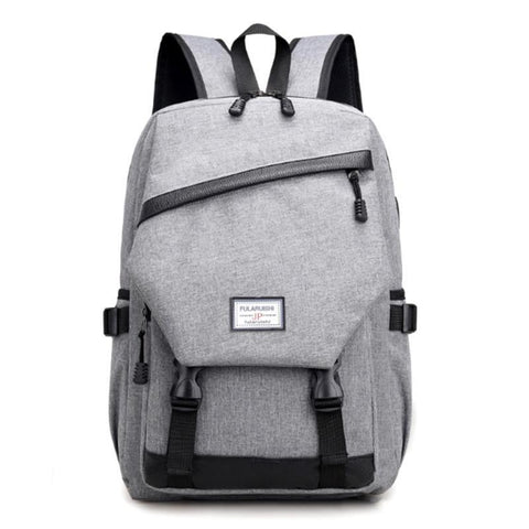 Computer Laptop Usb Charging Backpack School Bag Pack Adult Student Bag Business Backpack Male