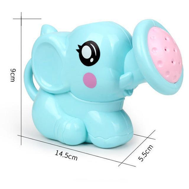 PINkart-USA Blue Cute Elephant Baby Bath Toys Plastic Water Spray For Baby Shower Swimming Toys Kids Gifts Cartoon