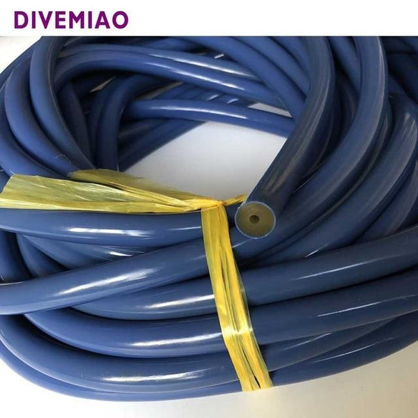 PINkart-USA Blue Spearfishing Sling Speargun Bands Rubber Tube Nature Latex 16Mm 5/8'' Dia Band Scuba Dive
