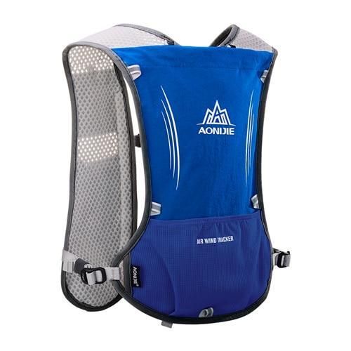 PINkart-USA Blue Women Men Lightweight Running Backpack Outdoor Sports Trail Racing Marathon Hiking Fitness Bag