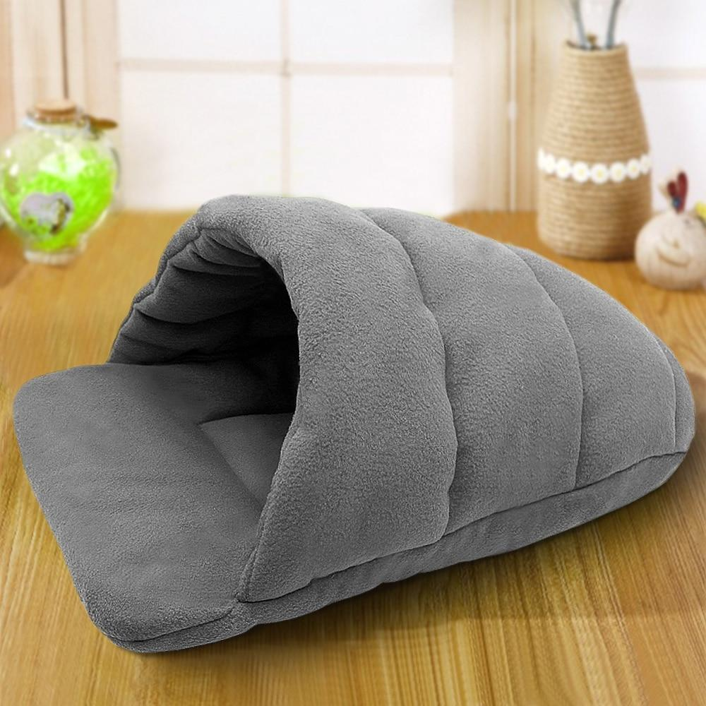 Dog Bed House For Small Dogs Dog Cat Kennel Mat Cat Sleeping Bag Sofa Warm Pet Cushion N For