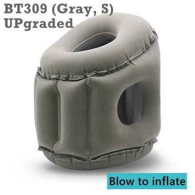 Inflatable Pillow Innovative Air Travel Neck Pillows Head Chin Support Cushion For Flights Car