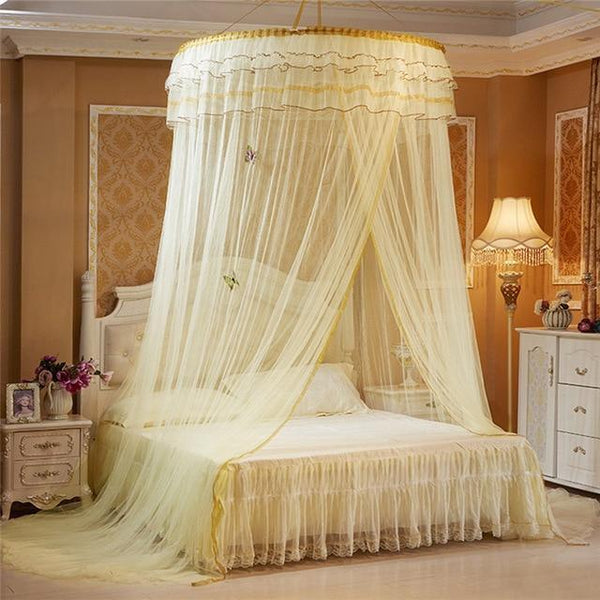 PINkart-USA C Luminous Butterfly Baby Tent Crib Netting Palace Bedroom Bed Curtain Kids Girls Mantle Mosquito Net