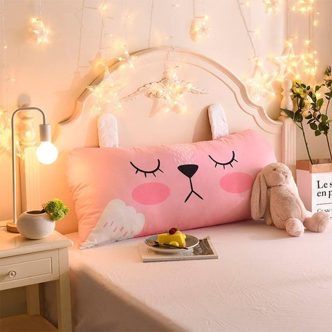 PINkart-USA Cartoon Children'S Big Pillow Living Room Bedroom Large Cushions Home Bedside Decor Back Pillows