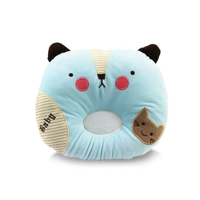 PINkart-USA Cat Blue Born Shaping Nursing Pillow Animals Baby Room Decor Pillows Wall Stickers Kids Boy Girl Crib