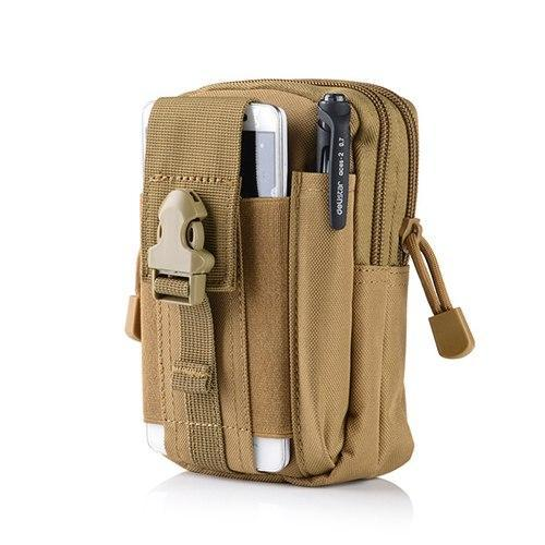 PINkart-USA Champagne Outdoor Camping Hunting Accessory 600D Tactical Waist Bag Pouch Military Waist Belt Wallet Sport