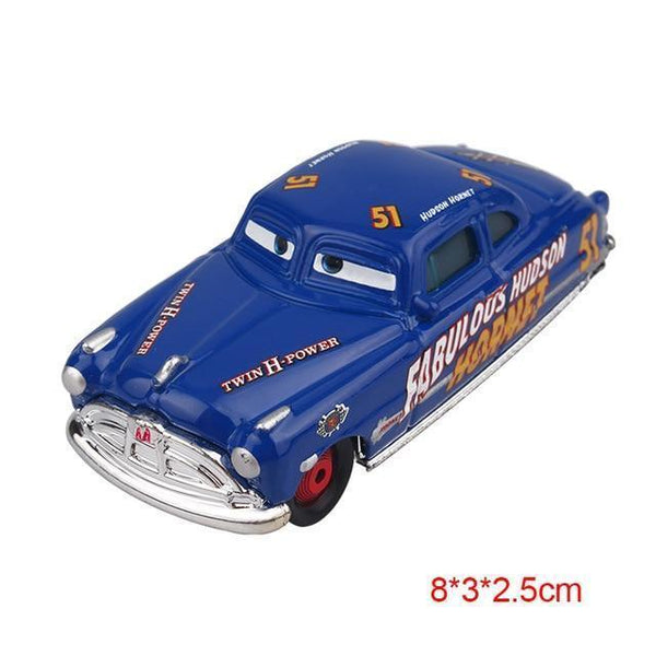 PINkart-USA Champion Pixar Cars 2 3 Lightning Mcqueen Mater Jackson Storm Ramirez 1:55 Diecast Vehicle Metal Alloy Boy