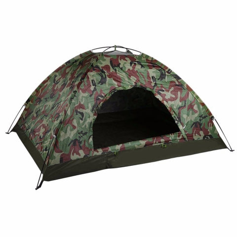 PINkart-USA China Outdoor Portable Single Layer Camping Tent Camouflage 2 Person Waterproof Lightweight Beach Fishing
