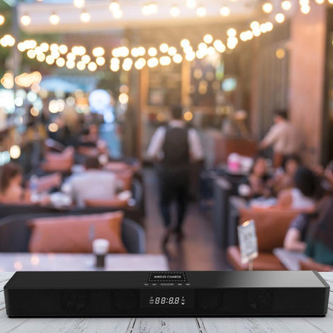 PINkart-USA China / With USB Port Wireless Bluetooth Column Soundbar Stereo Speaker Powerful Tv Home Theater 4.0A Battery Sound Bar