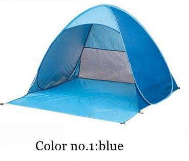 PINkart-USA Color 1 / China Automatically Set Up Camping Beach Shade Tent To Open Quickly Outdoor Uv50+ Protection Pop Up Throw