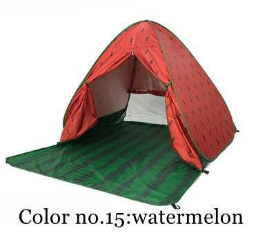 PINkart-USA Color 15 / China Portable Beach Tent!Pop Up Automatically Set Up Camping Beach Tent With Curtain Quickly Open