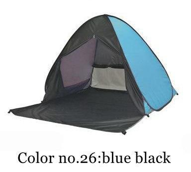 PINkart-USA Color 26 / China Portable Beach Tent!Pop Up Automatically Set Up Camping Beach Tent With Curtain Quickly Open