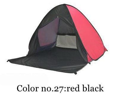 PINkart-USA Color 27 / China Portable Beach Tent!Pop Up Automatically Set Up Camping Beach Tent With Curtain Quickly Open