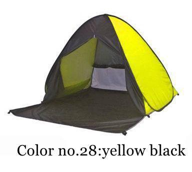 PINkart-USA Color 28 / China Portable Beach Tent!Pop Up Automatically Set Up Camping Beach Tent With Curtain Quickly Open