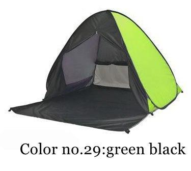 PINkart-USA Color 29 / China Portable Beach Tent!Pop Up Automatically Set Up Camping Beach Tent With Curtain Quickly Open