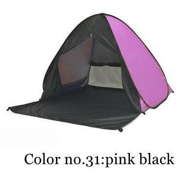 PINkart-USA Color 31 / China Portable Beach Tent!Pop Up Automatically Set Up Camping Beach Tent With Curtain Quickly Open