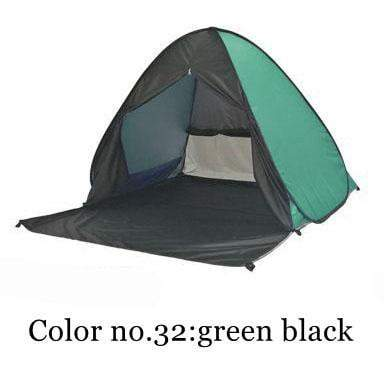 PINkart-USA Color 32 / China Portable Beach Tent!Pop Up Automatically Set Up Camping Beach Tent With Curtain Quickly Open