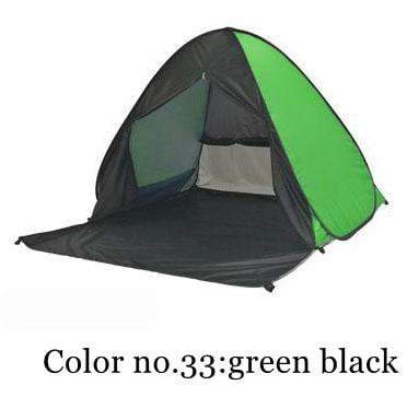 PINkart-USA Color 33 / China Portable Beach Tent!Pop Up Automatically Set Up Camping Beach Tent With Curtain Quickly Open