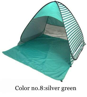 PINkart-USA Color 8 / China Automatically Set Up Camping Beach Shade Tent To Open Quickly Outdoor Uv50+ Protection Pop Up Throw