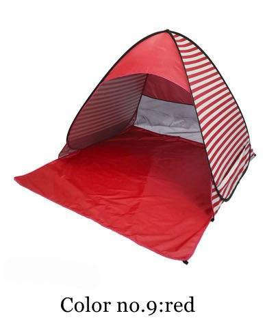 PINkart-USA Color 9 / China Automatically Set Up Camping Beach Shade Tent To Open Quickly Outdoor Uv50+ Protection Pop Up Throw