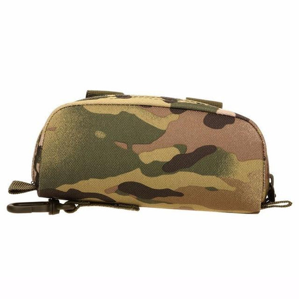 PINkart-USA CP Camouflage Men Tactical Military Army Molle Sunglasses Case Eyeglasses Bag Outdoor Glasses Pouch Fanny Pack