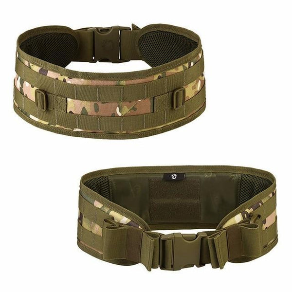 PINkart-USA cp Hunting Accessories Outdoor Military Camouflage Molle Tactical Belt Combat Adjustable Suspenders