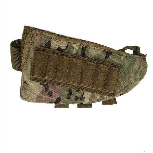 PINkart-USA CP Outdoor Tactical Buttstock Rifle Stock Ammo Portable Pouch Shell Cartridge Holder Pouch Holder