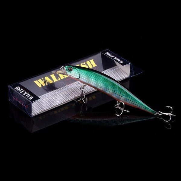 PINkart-USA D 4 Hot Model Wobbler Fishing Lure 135Mm 17.4G Floating Minnow Crankbait Bass Pike Bait Fishing
