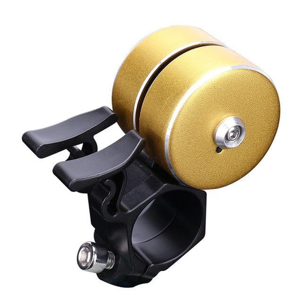 PINkart-USA D / China Arrival Bicycle Bell With Double Click 120Db Bicycle Handlebar Bell Alarm Bike Horn Bells Cycling