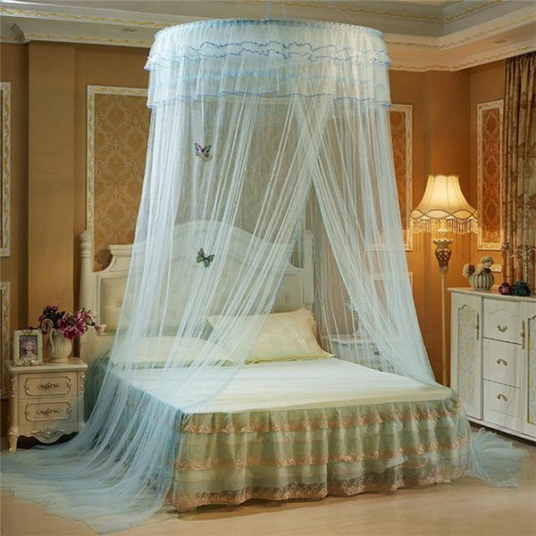 PINkart-USA D Luminous Butterfly Baby Tent Crib Netting Palace Bedroom Bed Curtain Kids Girls Mantle Mosquito Net