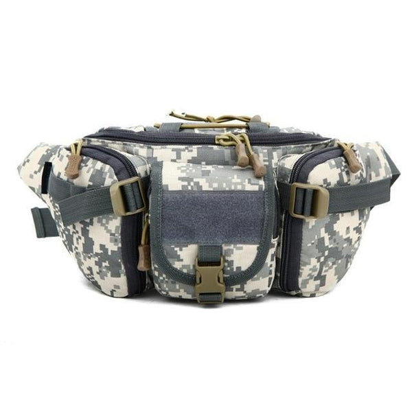 PINkart-USA D / Other 5 Colors Tactical Molle Bag Waterproof Waist Fanny Pack Hiking Fishing Sports Hunting Waist Bags