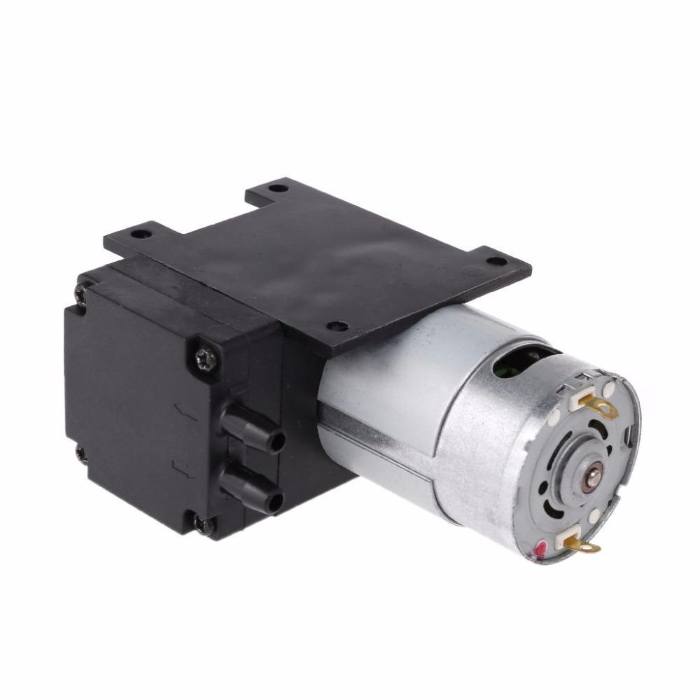 PINkart-USA Dc 12V Mini Vacuum Pump 8L/Min High Pressure Suction Diaphragm Pumps With Holder