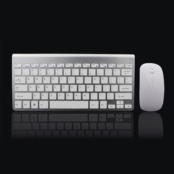 PINkart-USA Default Title 2.4Ghz Ultra-Thin Wireless Keyboard And Mouse Combo With Usb Receiver Mouse Keyboard Set For
