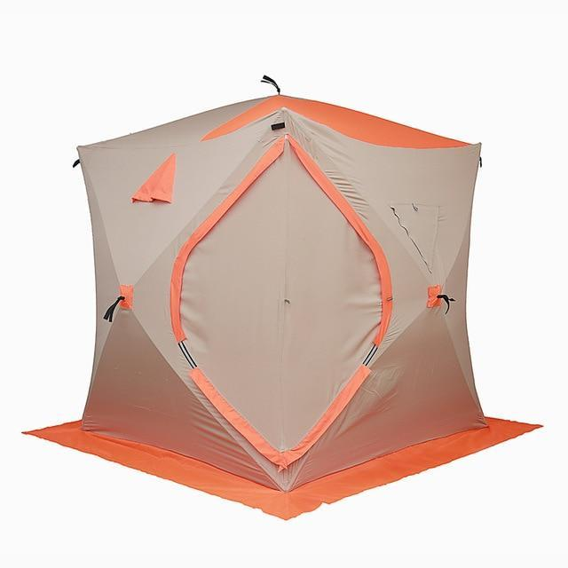 PINkart-USA Default Title Large Space 2-3 People Ice Fishing Tent 300D Oxford Winter Tent Automatic Speed Tent Carbon Fiber