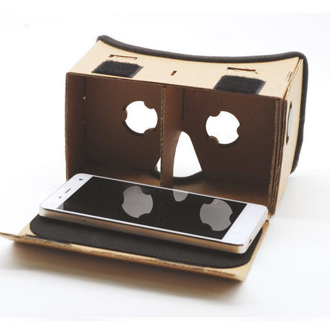 PINkart-USA Default Title Virtual Reality Glasses Google Cardboard Glasses 3D Glasses Vr Box Movies For Iphone 5 6 7 Smartphones Vr Headset For Xiaomi