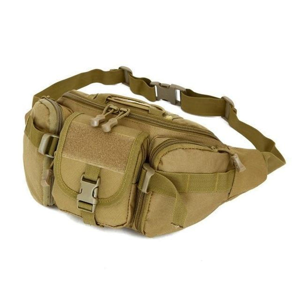PINkart-USA E / Other 5 Colors Tactical Molle Bag Waterproof Waist Fanny Pack Hiking Fishing Sports Hunting Waist Bags