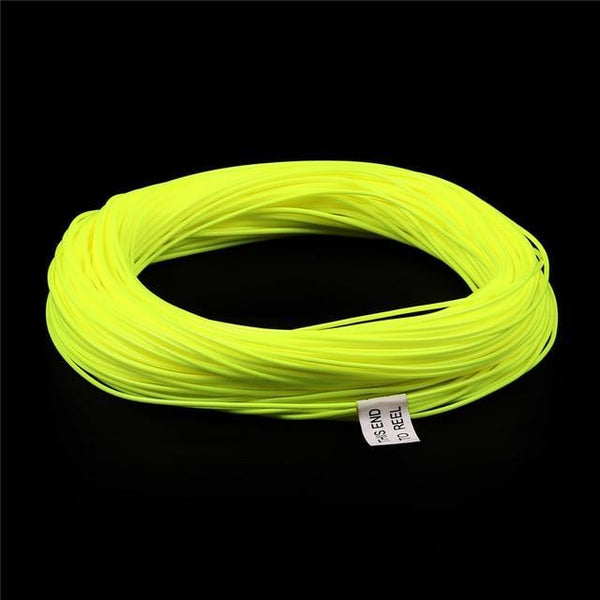 PINkart-USA Fluo yellow / 10 Maximum Catch 100 Ft Weight Forward Floating Fly Fishing Line 1Wt --- 9 Wt Floating Fly Line