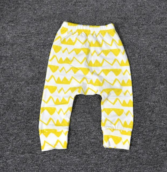 PINkart-USA Fluorescent Yellow / 24M Baby Leggings Atutmn Cartoon Baby Leggings Pants Children Trousers Harem Pants Baby Boy Trousers