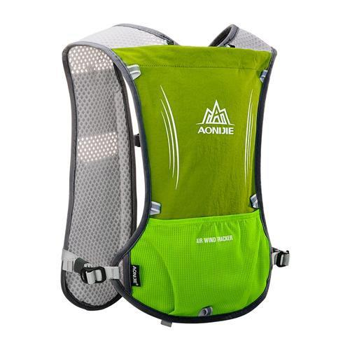 PINkart-USA Grass Green Women Men Lightweight Running Backpack Outdoor Sports Trail Racing Marathon Hiking Fitness Bag