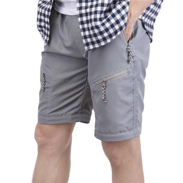 PINkart-USA gray / S / China Summer Shorts Men Fashion Brand Boardshorts Breathable Male Casual Shorts Comfortable Plus Size