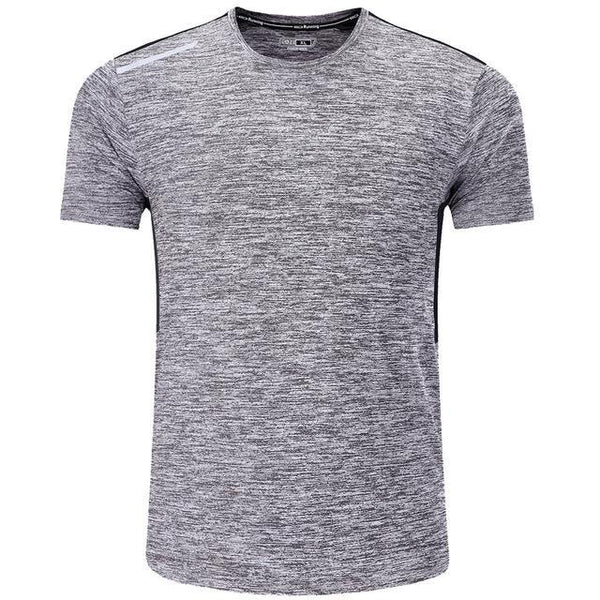 PINkart-USA gray / XL / China T Shirt Men Tops Tees Sport Designer Running Shirt Men T-Shirt Compression Short Sleeve Gym Workout