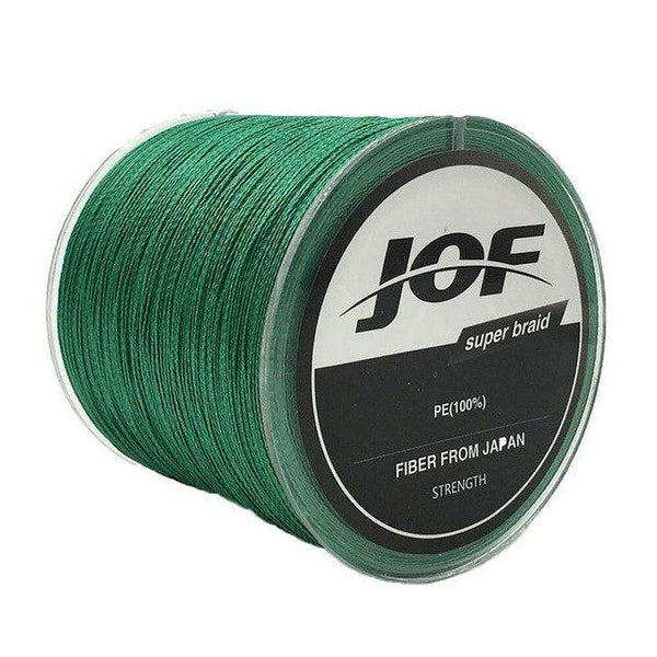 PINkart-USA Green / 1.0 8 Strands Weaves 500M Extrem Strong Japan Multifilament Pe 8 Braided Fishing Line 15 20 30 40 50 60